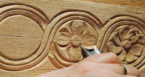 imagen talla en madera: letrero