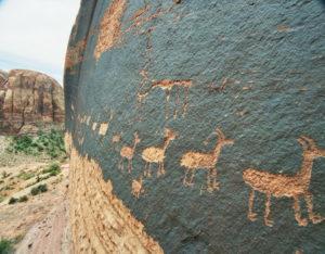 tipos de tallado animales petroglifo