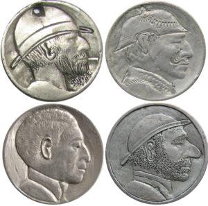 tipos de tallado monedas grabadas
