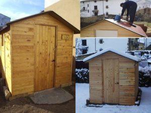 casetas de jardin madera