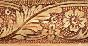 molduras de madera talladas