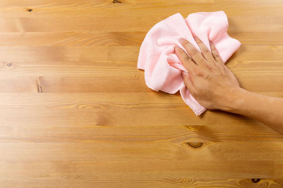 pisos de madera limpieza
