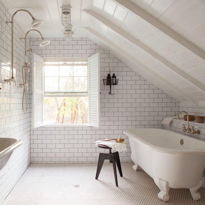 techos de madera en blanco