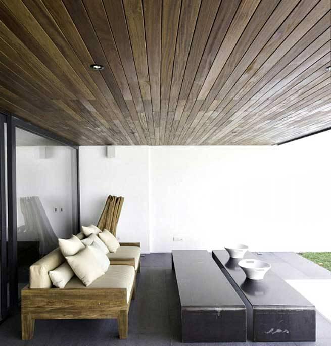 techos de madera exterior