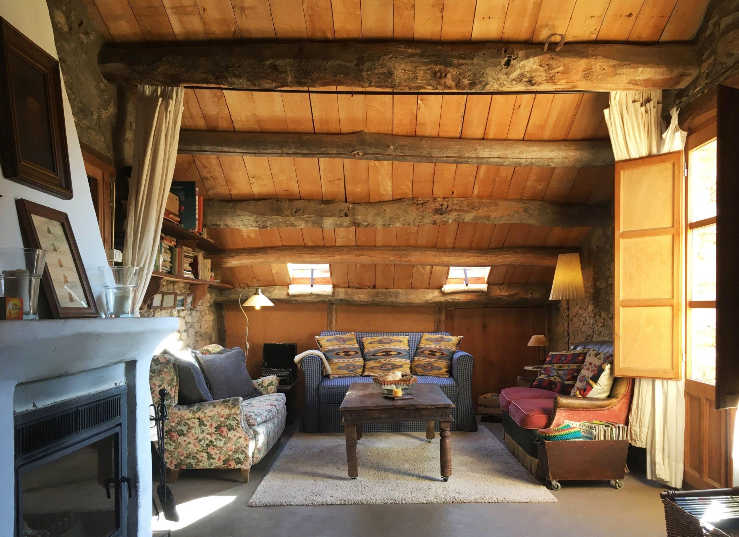 techos de madera rusticos
