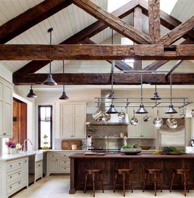 techos de madera con vigas