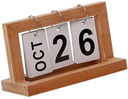 calendario de madera comprar